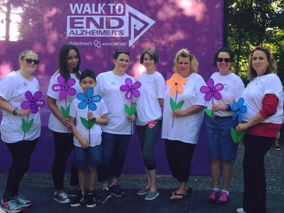 Seeta Eye Care Centers Employees Walk to End Alzheimer's | Highland, New York